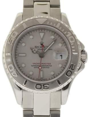Rolex Yacht-Master 16962 Stainless Steel 29mm Womens Watch