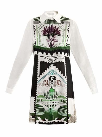 Mary Katrantzou Botanist shirt dress