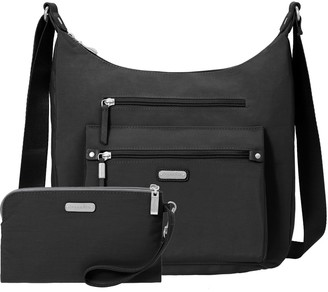 Baggallini Day Trip Hobo with RFID Phone Wristlet