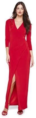 Damsel in a Dress Red Samia Slinky Jersey Maxi Dress