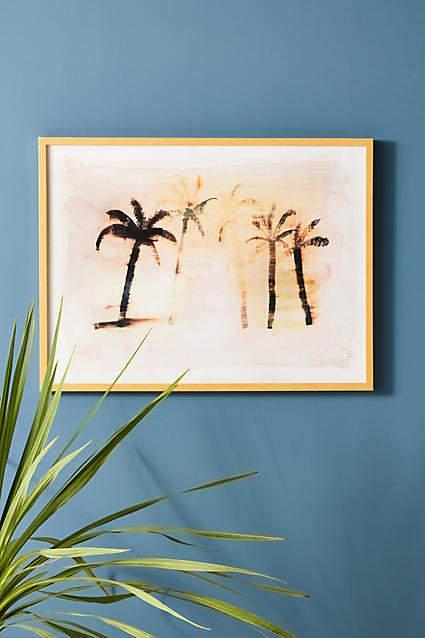 Artfully Walls Faded Palm Wall Art