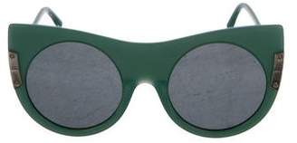 Stella McCartney Tinted Cat-Eye Sunglasses