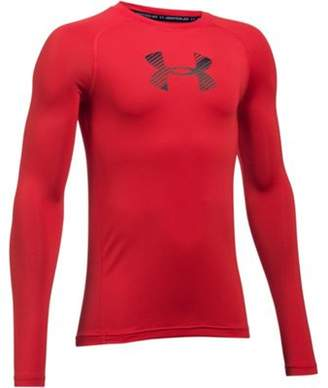 Under Armour Heatgear Armour Kids Long Sleeve Compression Baselayer Shirt XL