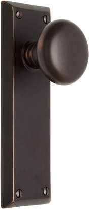 Rejuvenation Providence Knob with Large Quincy Backplate