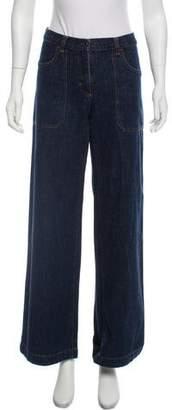 Miu Miu Mid-Rise Flared Jeans