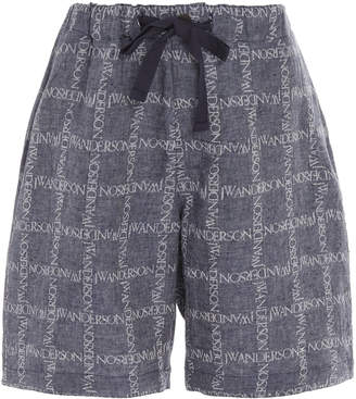 J.W.Anderson Printed Cotton-Voile Shorts