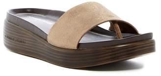 Donald J Pliner Fiji Platform Hidden Thong Sandal