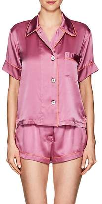 Araks Women's Shelby Silk Charmeuse Pajama Top