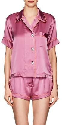 Araks Women's Shelby Silk Charmeuse Pajama Top
