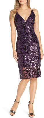 Eliza J Sequin Slipdress