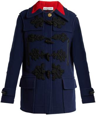 Altuzarra Morley double-breasted wool duffle coat