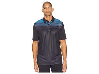 Callaway Textured Modern Print Polo Men's Short Sleeve Pullover