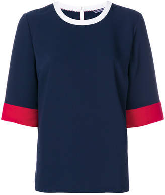 Tommy Hilfiger signature colour block T-shirt