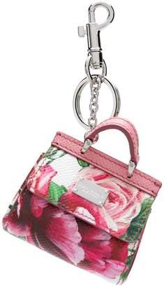 Dolce & Gabbana Mini Sicily bag keychain