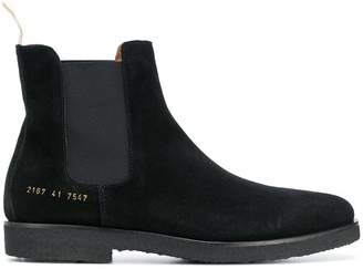 Common Projects chamois leather Chelsea boots
