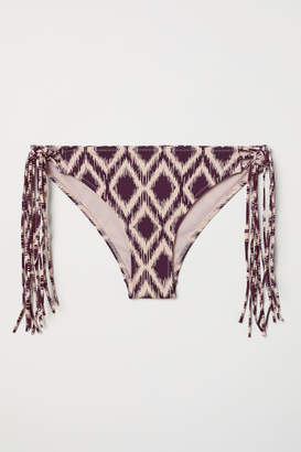 H&M Cheeky Bikini Bottoms - Purple