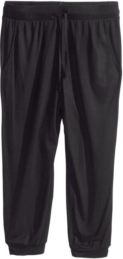 H&M Jersey Pants - Black - Ladies