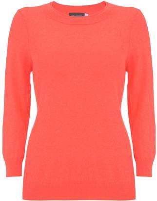 Mint Velvet Neon Orange Basic Knit