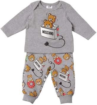 Moschino Cotton Jersey T-Shirt & Pants