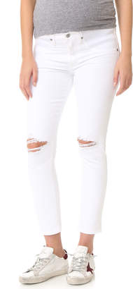 Citizens of Humanity The Maternity Principle Girlfriend Jeans $198 thestylecure.com