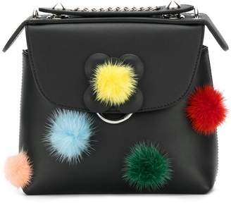 Fendi pom pom Back to School backpack
