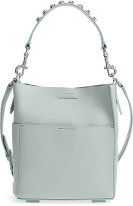 AllSaints Mini Suzi North/South Leather Tote