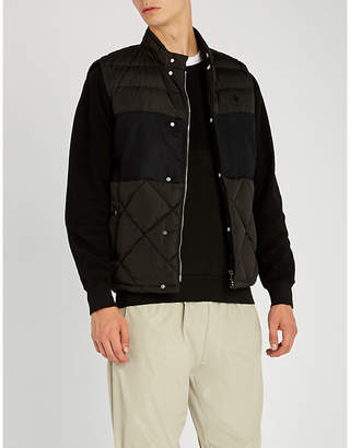 Moncler Quilted down-filled shell gilet