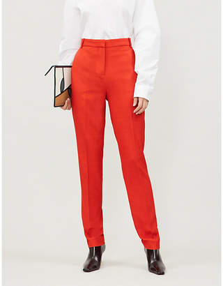 Victoria Beckham Victoria Tapered wool-blend trousers