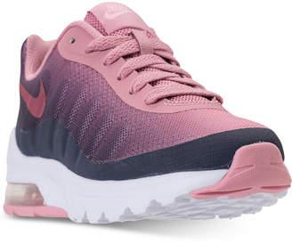 Nike Girls' Air Max Invigor Print Running Sneakers from Finish Line