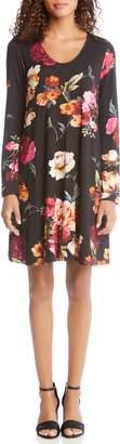 Karen Kane Taylor Floral Print Dress