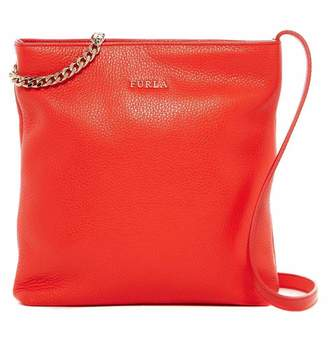 Furla – Julia Chain Leather Crossbody (ARANCIO)