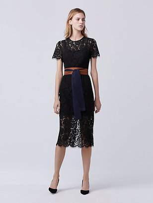 Carly Lace Midi Dress $598 thestylecure.com