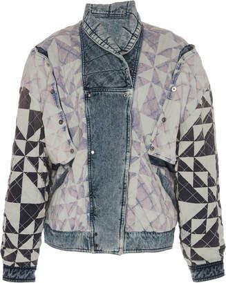 Isabel Marant Rany Reversible Denim Jacket