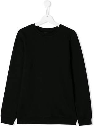 Les Bohemiens Kids TEEN printed-back sweatshirt