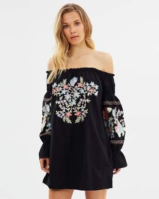 Free People Fleur Du Jour Mini Dress