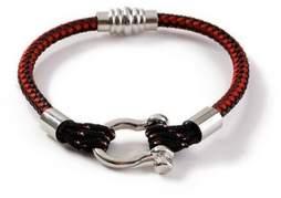 Topman Mens Red Cord Bracelet*