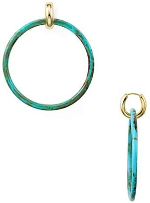 Argentovivo Hoop Earrings