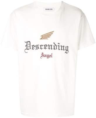 Ground Zero Descending Angel embroidered T-shirt