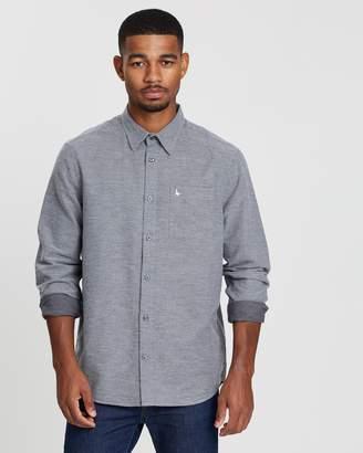 Jack Wills Palewell Textured Flannel Shirt