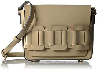 Orla Kiely Glass Leather Linked Mini Ivy Bag