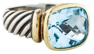 David Yurman Topaz Large Noblesse Ring