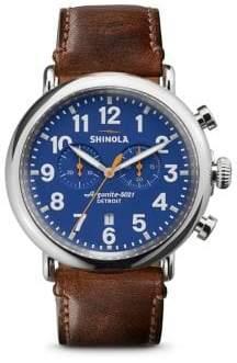 Shinola The Runwell Chronograph Watch