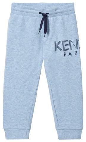 Pale Blue Logo Sweatpants