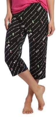 Hue Shout It Clam Digger Pajama Pants