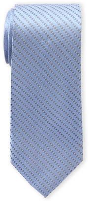 Calvin Klein Geometric Line Silk Tie