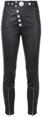 Alexander Wang cropped skinny trousers