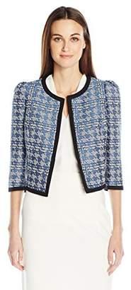 Nine West Women's Houndstooth Jacket