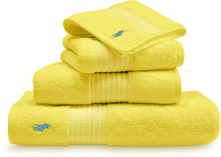 Player Towel - Slicker Yellow - Hand Towel