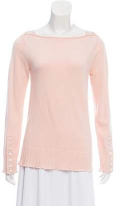 3.1 Phillip Lim Pearl-Accented Rib Knit Sweater w/ Tags