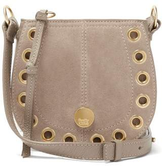 See by Chloé Kriss Suede Small Hobo Shoulder Bag - Womens - Grey